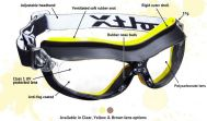 Defender Safety Goggles